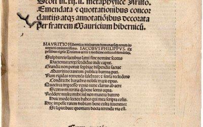Juan Duns Escoto, Beato (1266-1308)